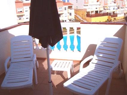 Three bedroom apartment to rent Anoreta golf Costa del Sol - Sunny Roof Terrace