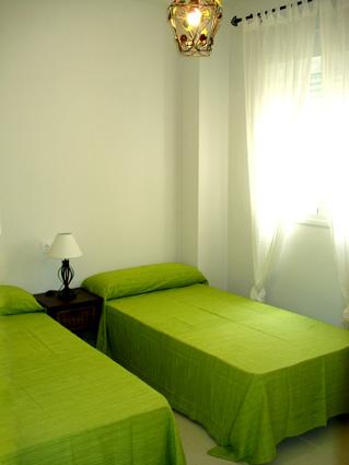 Algarrobo Apartment, Algarrobo Costa - Twin Bedroom