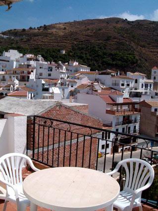 Four Bedroom House To Rent Algarrobo Costa del Sol - Sunny Roof Terrace & View