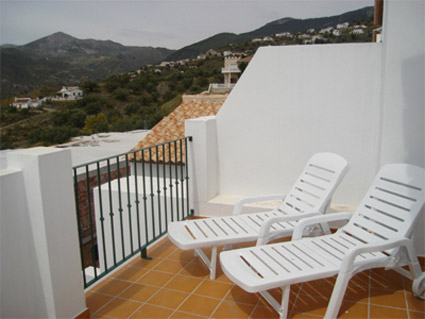 Alcaucin House Rental ref. ALC 002 - Large Balcony Terrace