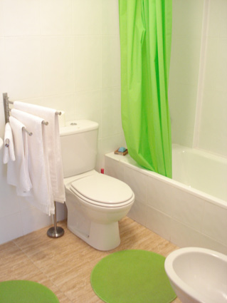 Alcaucin House Rental ref. ALC 002 - Family Bathroom