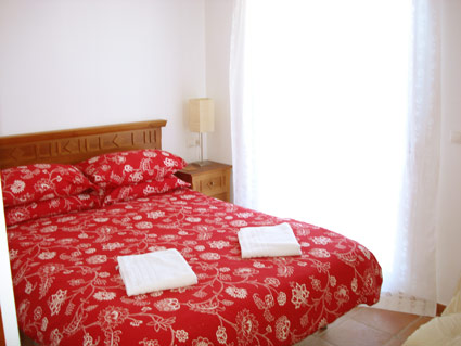 Alcaucin House Rental ref. ALC 002 - Master Double Bedroom with separate Bathroom