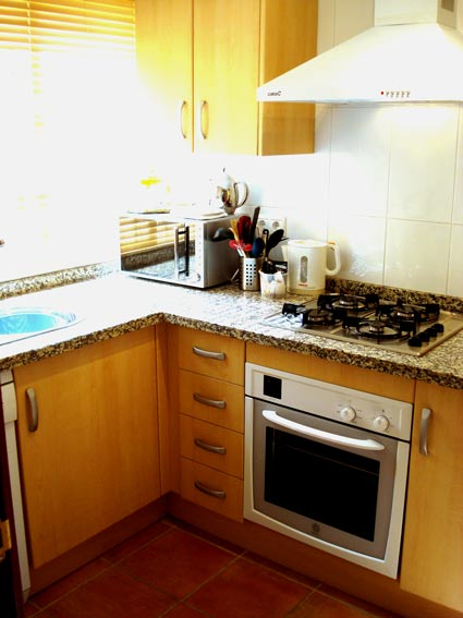 Alcaucin House Rental ref. ALC 002 - Fully fitted Kitchen