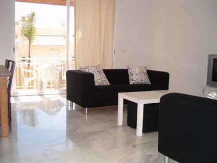 Three bedroom apartment to rent Anoreta golf Costa del Sol - Lounge / Diner