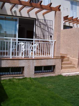 Three bedroom apartment to rent Anoreta golf Costa del Sol - Terrace & Garden
