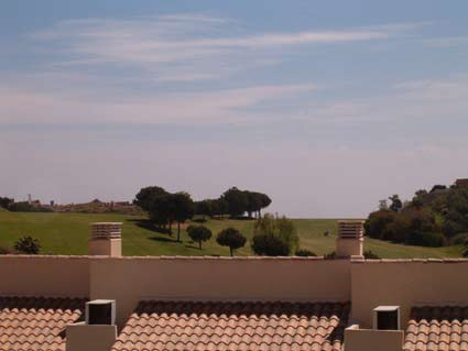 Three bedroom apartment to rent Anoreta golf Costa del Sol - View from Bedrooms 2 & 3