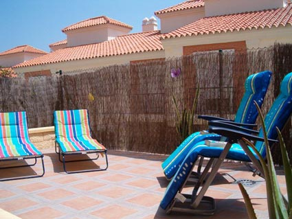 Three bedroom apartment to rent Anoreta golf Costa del Sol - Garden Terrace