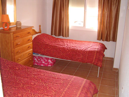 two bedroom apartment to rent anoreta golf  - Bedroom 2 - Twin / Triple