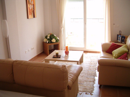 two bedroom apartment to rent anoreta golf  - Lounge