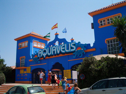 Aqua Velis Water Park, largest water park in the Axarquia region of the Costa del Sol
