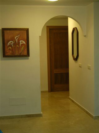 Two bedroom apartment to rent Baviera Golf - Hallway