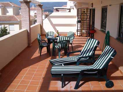 Two bedroom apartment to rent Baviera Golf - Terrace
