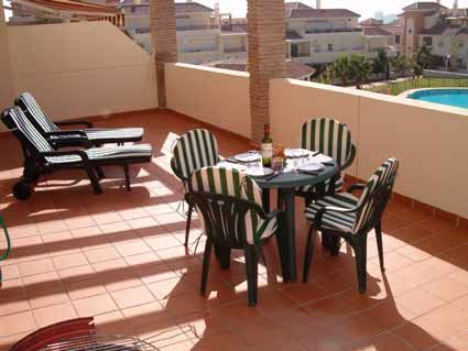 Two bedroom apartment to rent Baviera Golf - Terrace & View