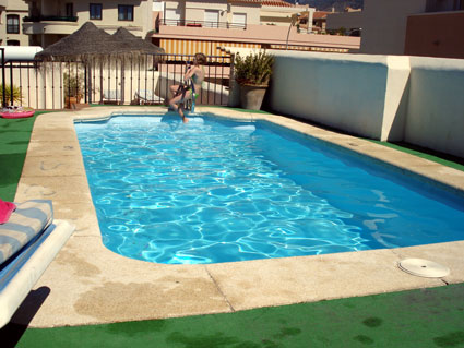 Nerja Apartment Rental Nerja Medina ref. NM001 - Roof top Pool