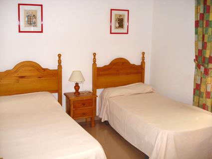 Nerja Apartment Rental Nerja Medina ref. NM001 - Twin Bedroom