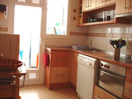 Malaga Apartment Rental, Rincon de la Victoria - Well equipped Kitchen