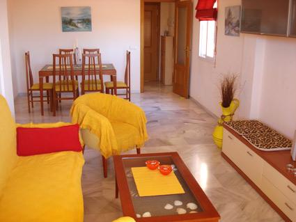 Malaga Apartment Rental, Rincon de la Victoria - Lounge-Diner
