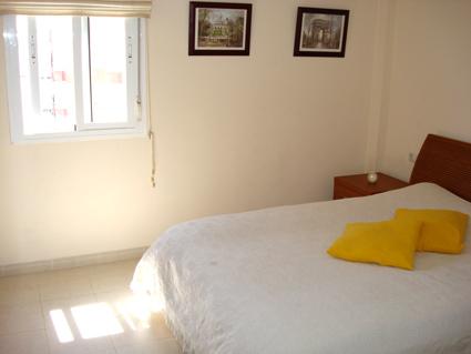 Malaga Apartment Rental, Rincon de la Victoria - Master Bedroom - Double