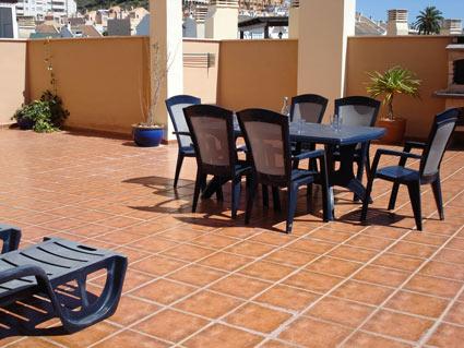Malaga Apartment Rental, Rincon de la Victoria - Large Sunny Terrace