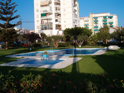 One bedroom apartment to rent Torrox Costa Communal Pool nearby