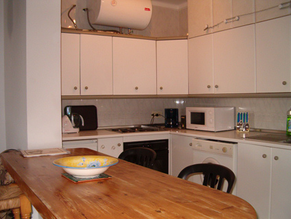 One bedroom apartment to rent Torrox Costa Kitchen area