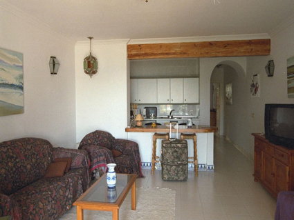 One bedroom apartment to rent Torrox Costa Lounge / Diner