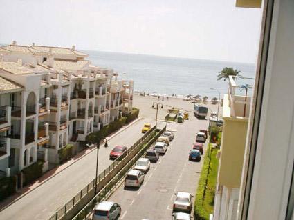 studio apartment to rent Torrox Costa Beach View