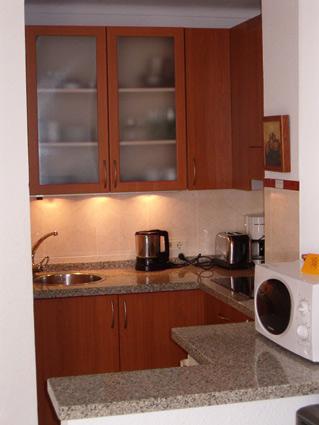 studio apartment to rent Torrox Costa Kitchen Area