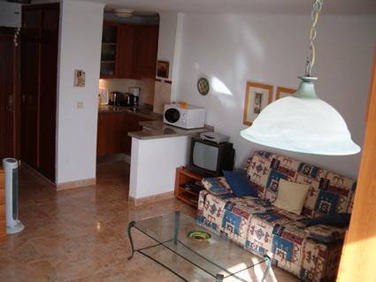 studio apartment to rent Torrox Costa open-plan Lounge/Diner