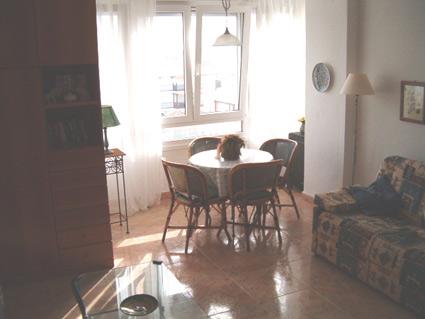 studio apartment to rent Torrox Costa Lounge/Diner
