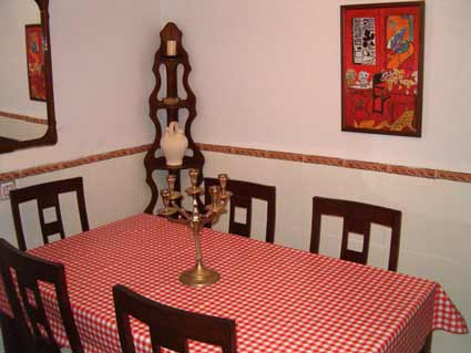 Three bedroom house to rent Velez Malaga ref. VM004 - Dining Room