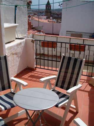 Three bedroom house to rent Velez Malaga ref. VM004 - Terrace