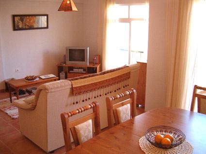 Three bedroom apartment to rent Anoreta golf Costa del Sol - Lounge/Diner