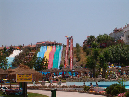 Aqua Velis is open 7 days a week from mid-June to mid-September