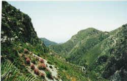 Sierra Tejeda mountains, Nerja