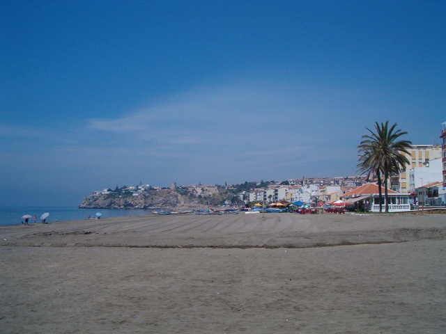 Playa de Rincon de la Victoria beach